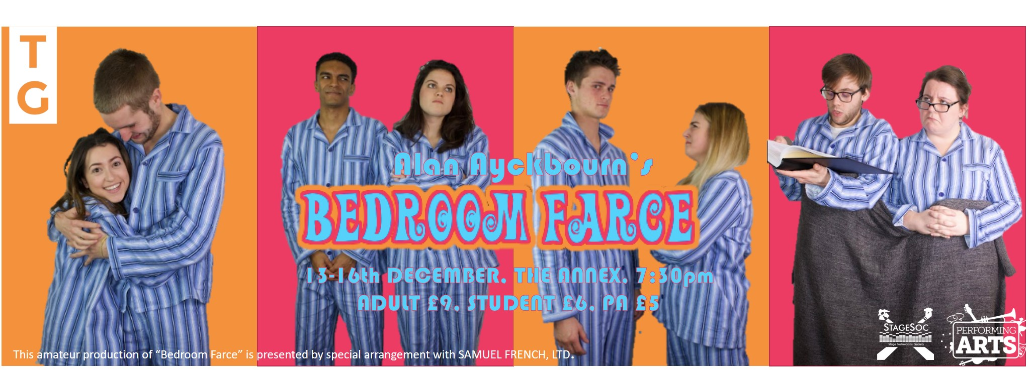 A bedroom farce review for Farcical characters