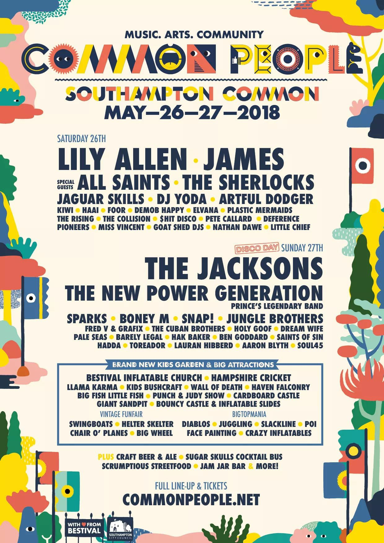 Common People 2018 Lineup Announced