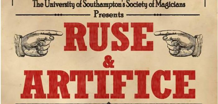 Review: Ruse and Artifice at The Annex Theatre, Southampton