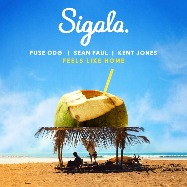 review sigala ft fuse odg sean paul kent jones feels like home. Black Bedroom Furniture Sets. Home Design Ideas