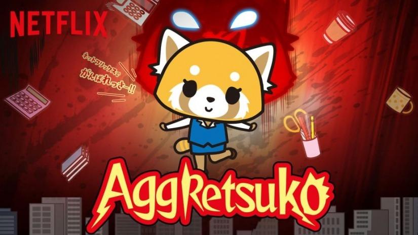 aggretsuko a cartoon take on corporate culture