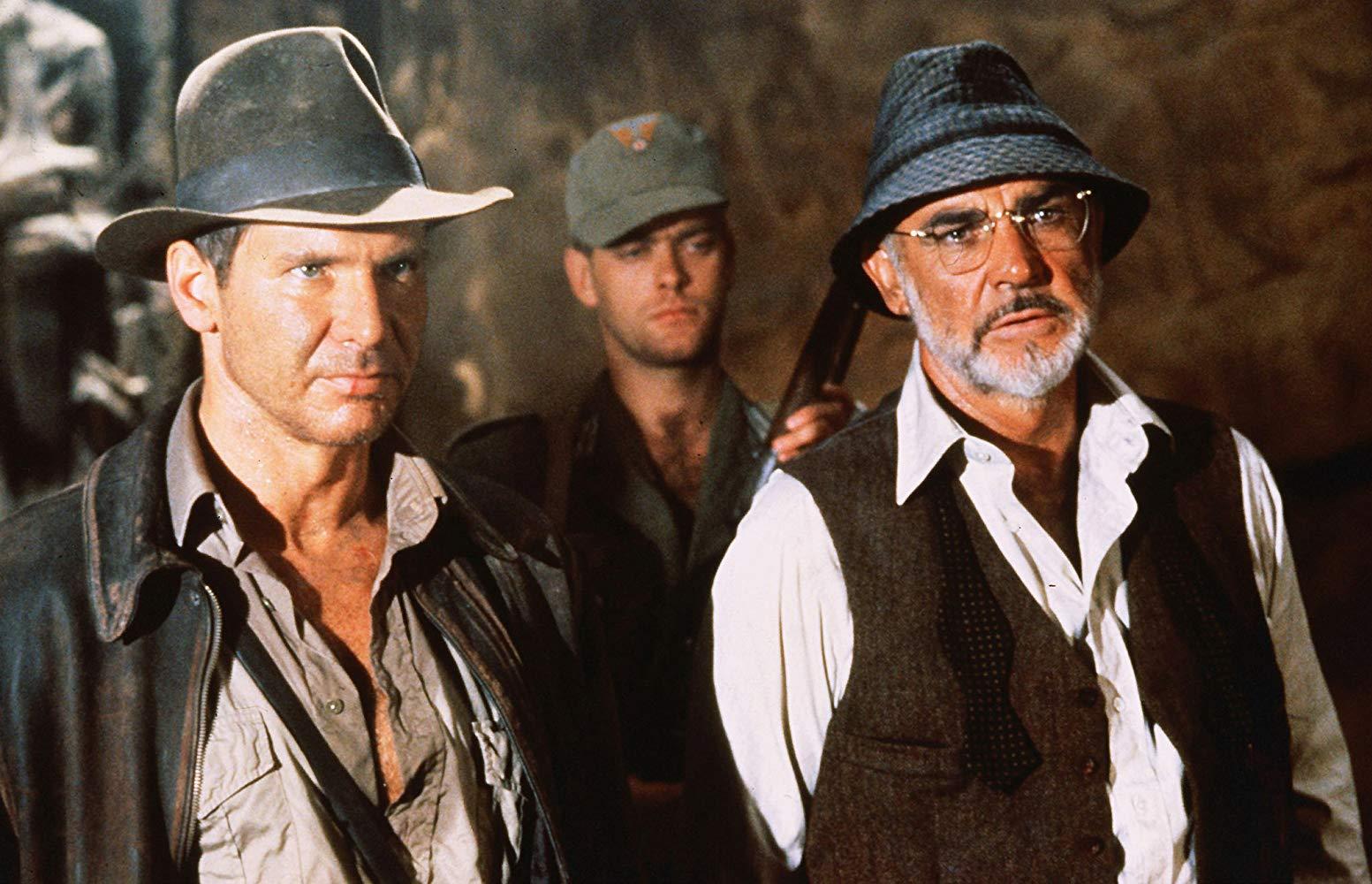 Harrison Ford e Sean Connery in Indiana Jones e L'Ultima Crociata (1989)