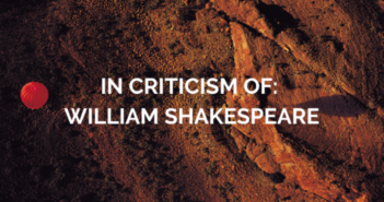 In Criticism Of: Shakespeare