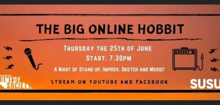 Preview: Southampton Comedy Society's 'The Big Online Hobbit'