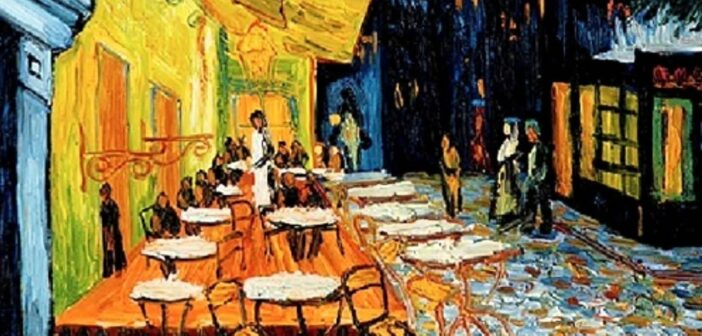 """A Sense of Calmness and Serenity"": Vincent Van Gogh's 'Cafe Terrace at Night'"