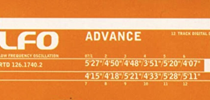 Nostalgic News: LFO's 'Advance' was released 25 years ago
