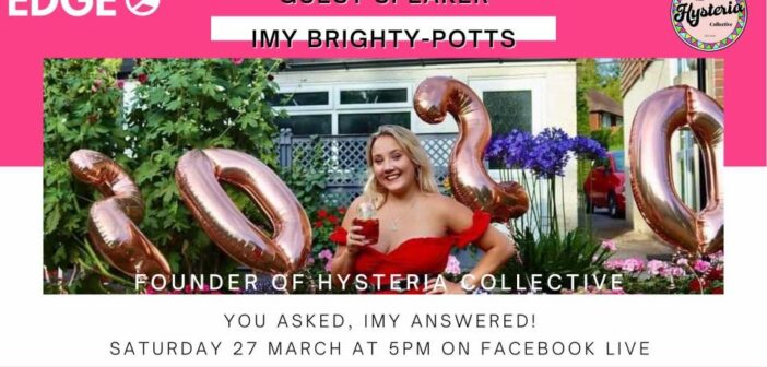 EVENT: Q&A Announced with Imy Brighty-Potts